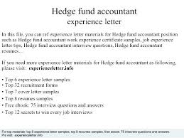 Resume Sample For Accountant Position Fund Accountant Resume Mutual Fund Accountant Sample Resume Entry