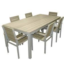 Salon de jardin en aluminium - Ensemble table +… - Achat / Vente ...