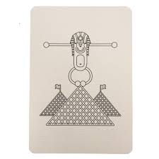 Carte Postale Pyramides Du Louvre Baby Prestige