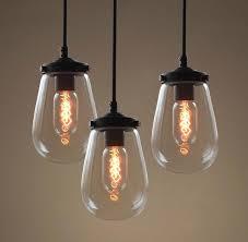 clear glass pendants lighting. globe clear glass pendant light pack of 3 pendants lighting