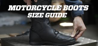 Durango Boots Size Chart Which Size To Choose For His Motorcycle Boots Motocard Tips