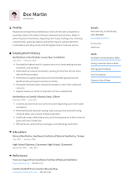 Resumes Free Download Aesthetician Resume Templates 2019 Free Download Resume Io