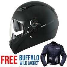 shark vision r gt carbon helmet matt black free jacket full face helmets ghostbikes com