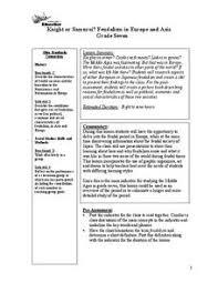 Samurai Vs Knight Venn Diagram Samurai Lesson Plans Worksheets Lesson Planet