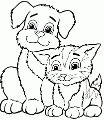 Small Picture Cute Kittens Coloring Pages Kitten Coloring Pages Color Book Free