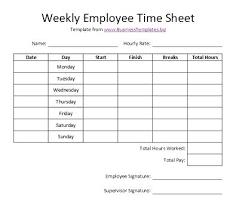 Time Sheet Doc Call Time Sheet Template