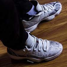 Jordan 11 Snakeskin Light Bone Release Date Air Jordan 11 Low Snakeskin Light Bone Cd6846 002