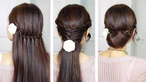 Quick Hairstyles For Braids Quick Easy Holiday Hairstyles With Twist Braids Youtube