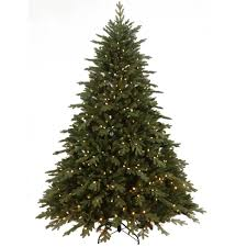 SEARS, ROEBUCK AND CO 7.5' Norwegian Spruce with 800 Dual Color LED Lights