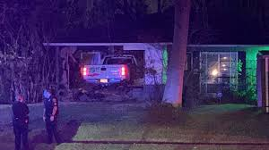 U-Haul pickup truck slams into home where father, baby are...