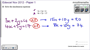 math exercises math problems system of equations solved by matrices