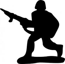 おもちゃの兵士クリップアート ベクター クリップ アート 無料ベクター