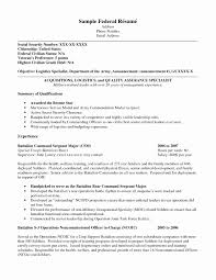 Resume Format For Usa Jobs Usa Jobs Resume Example Inspirational Example Federal Resume 24