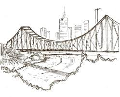 architectural drawings of bridges. Story Bridge. Bridge DrawingUrban SketchingArchitectural Architectural Drawings Of Bridges C