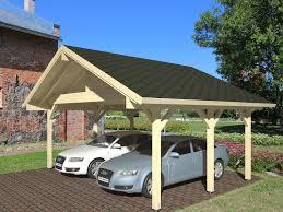 K B Carport I Tr Hans 3 Enkelt Garage I Tr Gratis Levering