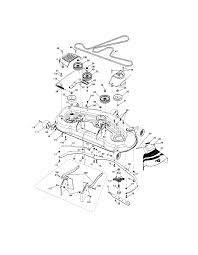 Craftsman tractor parts model