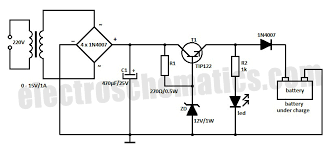 circuit diagram 12v car battery charger images dc regulated power supply ac a guide wiring diagram