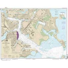 Noaa Chart 13272 Boston Inner Harbor