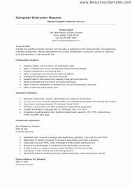 Skill Resume Format Skills On A Resume Example Elegant Skill Resume format Cool 1