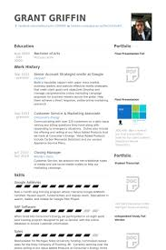 Senior Account Strategist Onsite At Google Resume samples