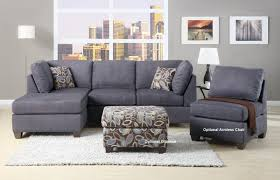chaise lounge  l sectional couch microfiber reclining sectional