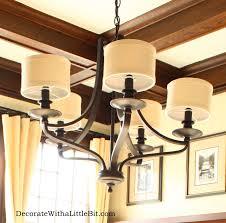 craftsman style lighting dining room 2