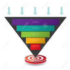 Web Design Sales Funnel Vector Infographic Or Web Design Template Vector Sales Funnel