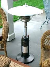 table top propane heater outdoor