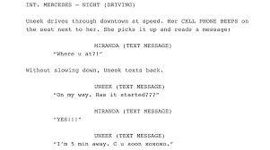 Movie Script Example Why You Should Stop Thinking Of Movie Script Format In Terms Of Rules