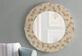 beachcrest home capiz shell wall mirror reviews wayfair inside capiz shell wall art