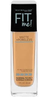 fit me matte poreless foundation