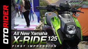 all new yamaha x ride 125 2017 first impression review indonesia l otorider