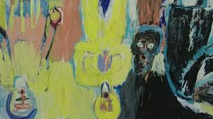 provocative german artist georg baselitz who inspired a generation with his depictions of the era and the post war division of germany