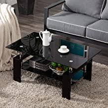 87.88 kb, 1000 x 1000. Amazon Com Black Glass Coffee Table