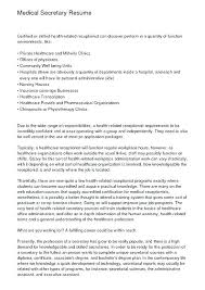 Legal Secretary Resume Cover Letter Sample Of Paralegal Resume