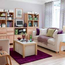 Purple Decorations For Living Room Beautiful Small Living Room Inspiration With Cute Cushions On