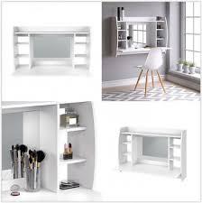 floating dressing table white vanity