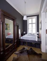 smart bedroom furniture. when your bedroom is really narrow you should use every inch of space especially under the smart furniture