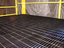 custom mezzanine bar grating floor steel bar grating mezzanine deck bar grate mezzanine floor