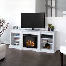 absolutely smart tv console with electric fireplace 12