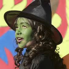 a young wicked witch of the west attends a halloween event in danbury in 2016