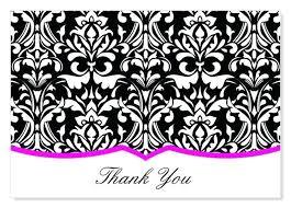 Thank You Black And White Printable Thank You Card Designs Black And White Printable Thank You
