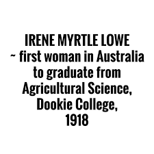 """Charlotte Aves on Twitter: """"Used to call Dookie College home so love this  story @invisfarmer! Amazing piece of history #womeninag @FVASunimelb… """""""
