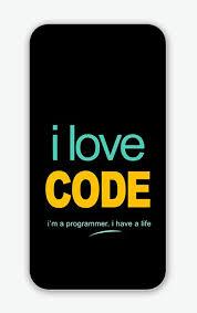 I Love Code Programmer Phone Cover