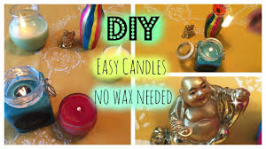Diy Candles Diy Easy Candles No Wax Needed Youtube