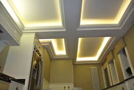Ceiling Up Light Chambered Ceiling With Uplight Coving And Leds Low Ceiling