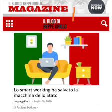 Fabiana Dadone - Lo smart working ha salvato la macchina...