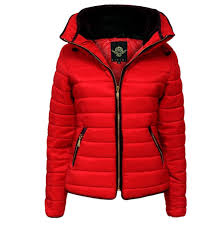 Womens Ladies Quilted Padded Coat Bubble Puffer Jacket Fur Collar ... & Womens Ladies Quilted Padded Coat Bubble Puffer Jacket Fur Collar Hooded  Thick at Amazon Women's Coats Shop Adamdwight.com