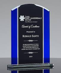Appreciation Glass Award Trophies Corporate Awards Recognition