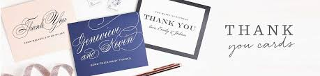 Thank You Cards & Thank You Notes | Match Your Color & Style Free ...